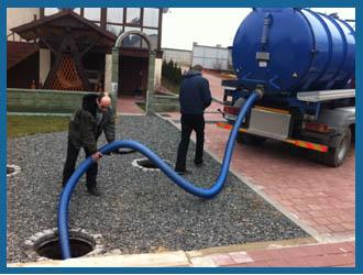 Откачка канализации и выгребных ям (септиков) в Омске